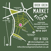 Brook Green Market Open on Wednesday and Saturday