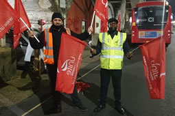 Four More Days of Strikes on Buses Planned