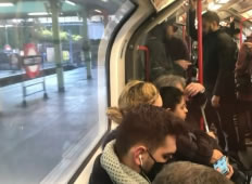 Big Increase in Number of Bus and Tube Passenger This Week