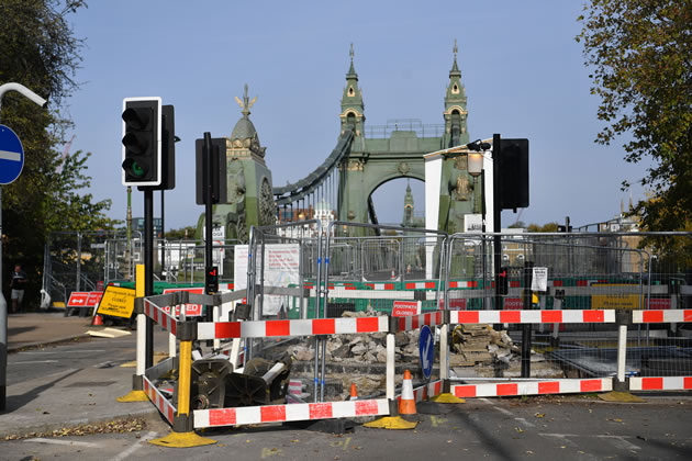 Government Says Major Work Not Needed To Reopen Hammersmith Bridge