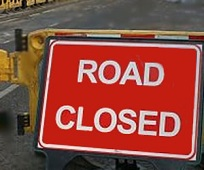 Roadworks Ahead in Shepherd