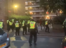 Police Officers Injured Breaking Up Unlicensed White City Music Event